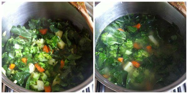 Zuppa di broccoli ricette di cucina il cuore in pentola for Cucinare broccoli